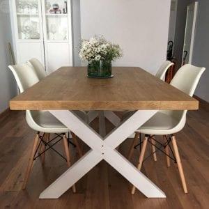 mesas de madera maciza