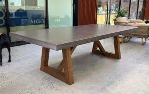 mesas de madera modernas