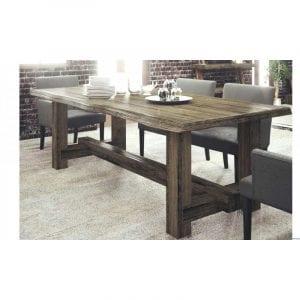 mesas de madera salon