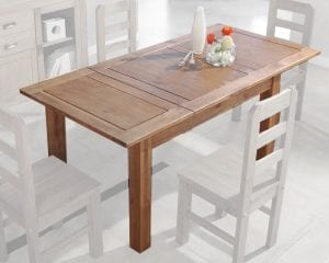 mesas extensibles de madera