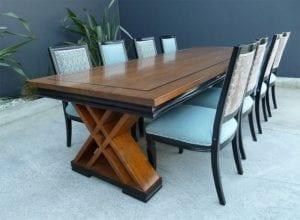 mesas modernas de comedor de madera