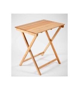 mesas plegables de madera