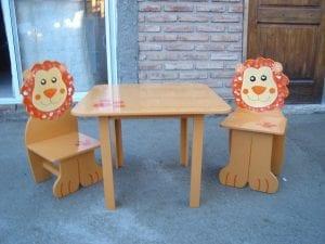 mesitas de madera infantiles