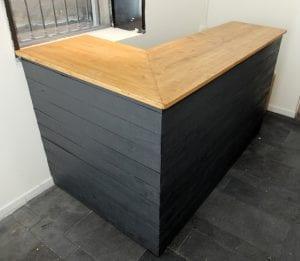 mostradores de madera