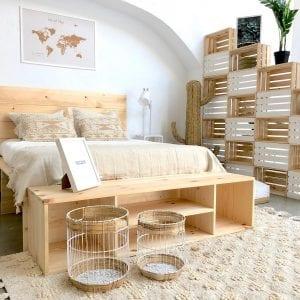 muebles de madera al natural