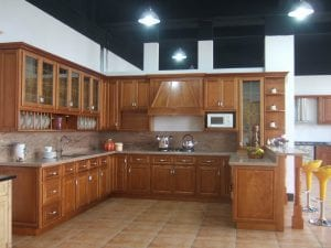Muebles de madera cocina
