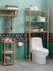 muebles de madera para el baño