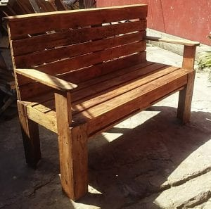 muebles de madera reciclada