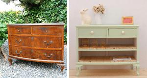 muebles de madera restaurados