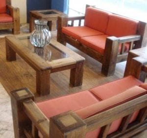 muebles de madera rusticos