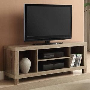 muebles de madera tv
