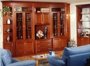 muebles de salon clasicos de madera