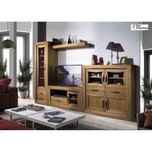 muebles de salon de madera maciza