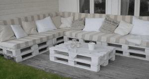paletas de madera muebles