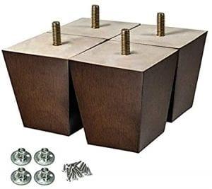 patas de madera para sillones