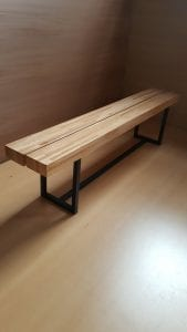patas para bancos de madera