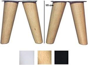 patas para muebles de madera