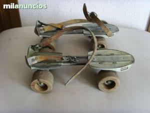 patines de madera
