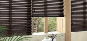 persianas venecianas de madera