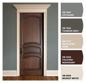 pinturas para puertas de madera