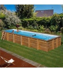 piscinas elevadas de madera