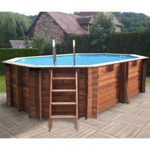 piscinas gre de madera