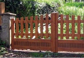 portillas de madera