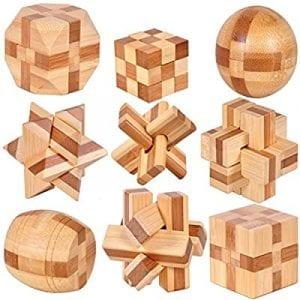 rompecabezas de madera 3d