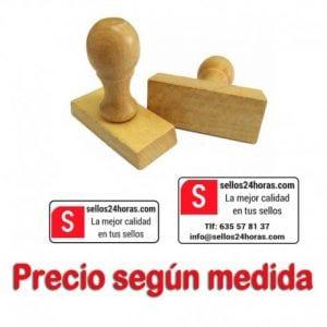 sellos de madera personalizados