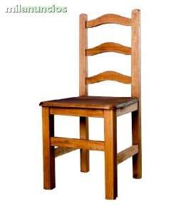 sillas baratas de madera