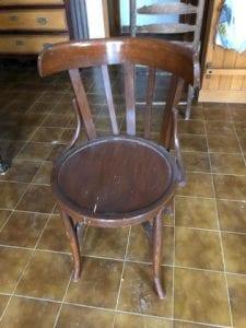 sillas de madera antiguas