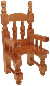 sillas de madera para niños