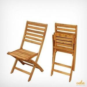 sillas de madera plegables baratas
