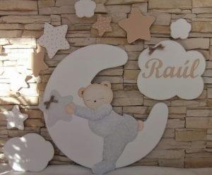 siluetas de madera infantiles
