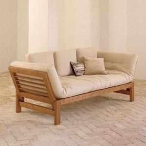 sofas de madera de pino