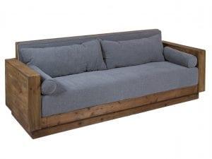 sofas de madera rusticos