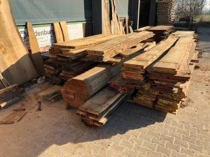 tablones de madera maciza