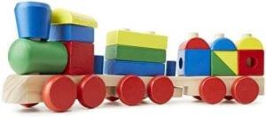 trenes de madera para niños