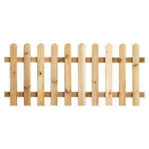 vallas de madera bauhaus