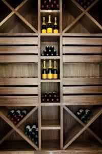 vinotecas de madera